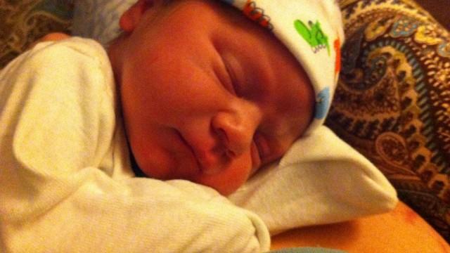 Josiah's new born pic