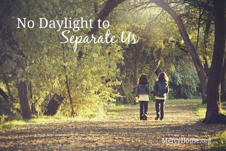 No Daylight to Separate Us