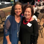 2018 benefit Janis McAdoo with Stephanie Rotthaus.