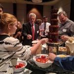2018 Benefit chocolate fondue station.