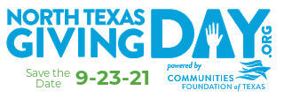 North Texas Giving Day is 9-23-21: Save the Date!