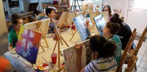 Volunteer opportunities include crafting