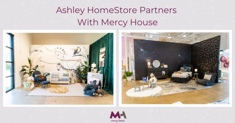 Ashley HomeStore Partners with Mercy House