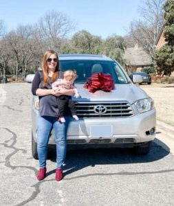 Resident receives gift of car