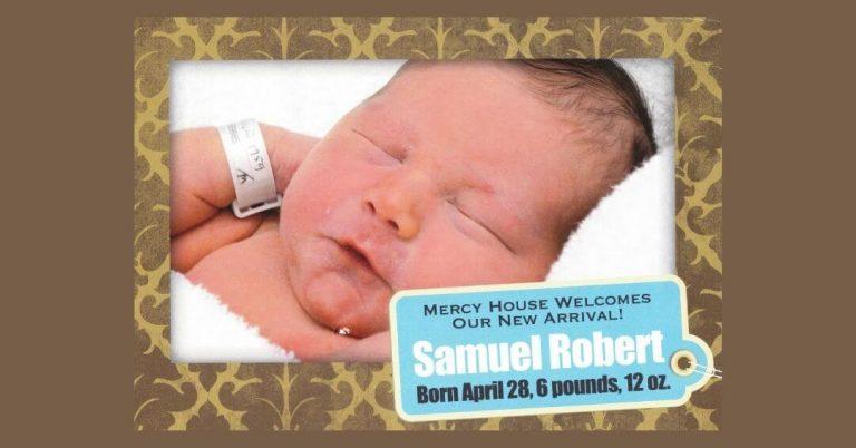 Announcing the birth of Samuel Robert